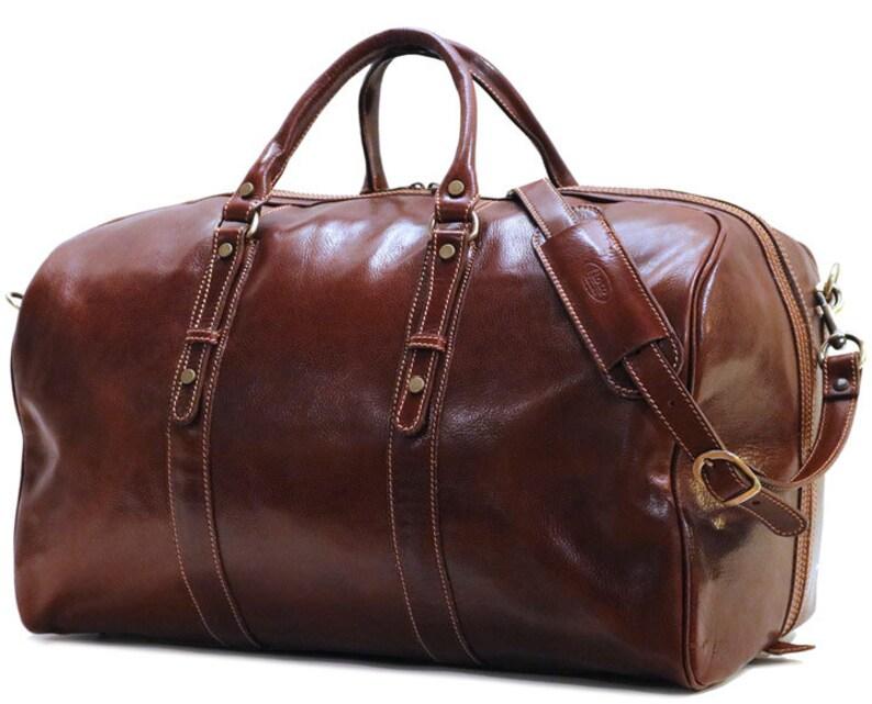 7e7209d1530e Venezia Grande, Leather Duffel Bag, Weekend bag, Duffle Bag, mens duffel  bag, Gym Bag, overnight bag (18G)