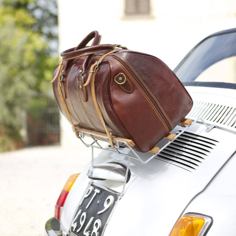 a9a2b888935745 Large Leather Travel Bag Leather Duffel Bag Weekender Bag