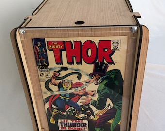 Golden & Silver Age Comic Storage/Display Box - Safely Store and Display Valuable Golden and Silver Age Comics