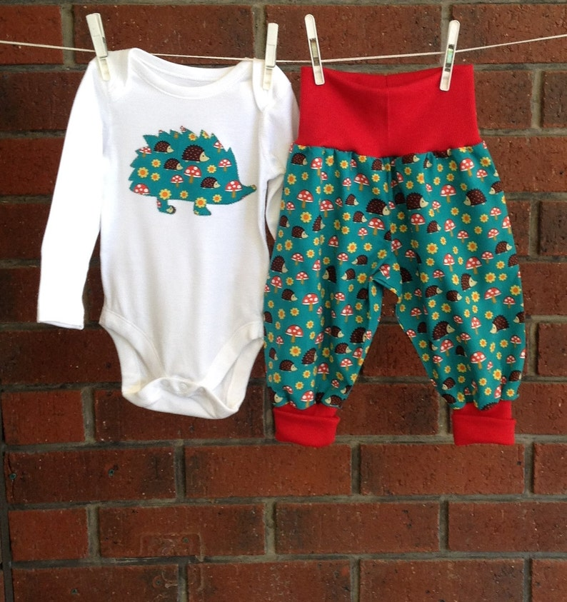 0b3dabdc783 Unisex baby clothing hedgehogs clothes gender neutral | Etsy