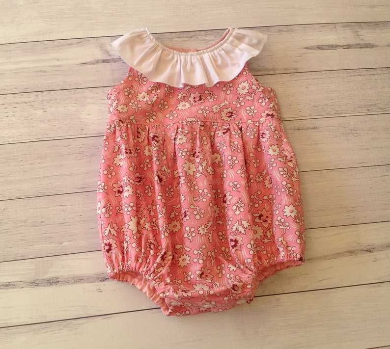 Infant Newborn Baby Red Rose Print See Through Jumpsuit Gauze Romper Nb-12month Girls' Clothing (newborn-5t) One-pieces