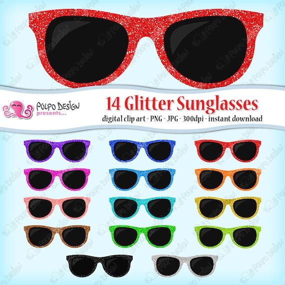 04e67bb404f7c1 14 14 14 coloré coloré coloré coloré de Glitter clipart soleil paillettes  lunettes Etsy gUOnwagq