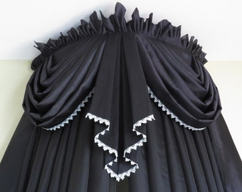 629e43397208 Custom bed crown canopy in Gothic style W40
