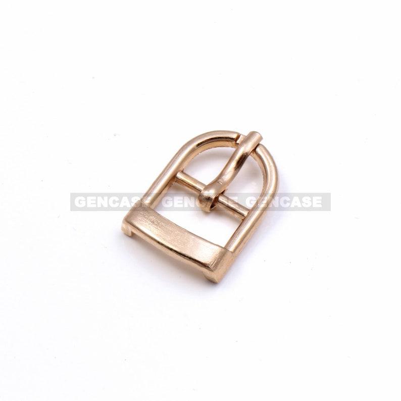 1 PCS Light Gold 11mm Metal U-Shaped Buckle