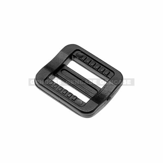 TRIGLIDE STRAP ADJUSTER BLACK PLASTIC FOR 20MM WEBBING MULTI PACKS AVAILABLE