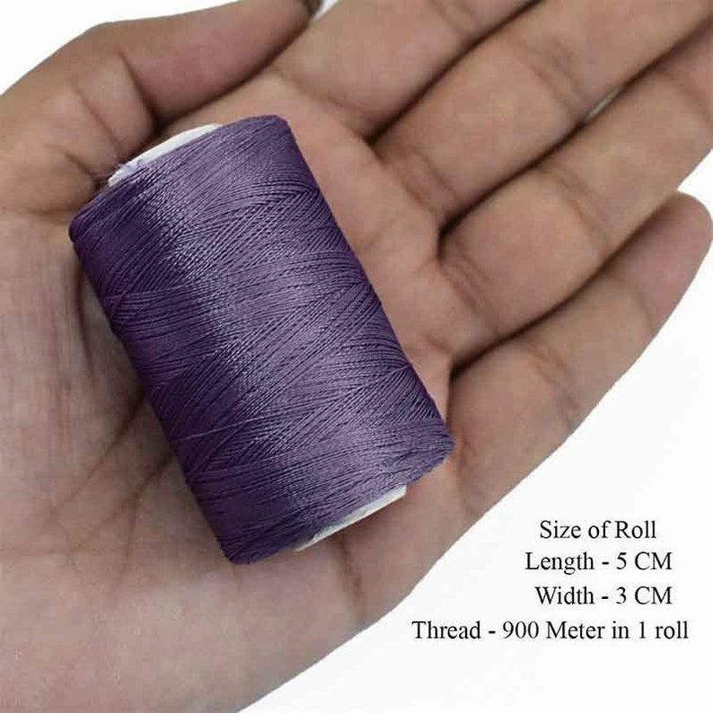 Art Silk Thread in Violet Color,Art Embroidery silkyarn,Embroidery Thread,indian silk thread,Viscose Rayon Silk thread-2Roll-984YardRoll