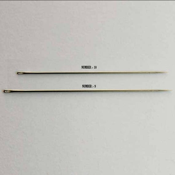 Hand Embroidery Needles for Aari Embroidery Technique All Three Style 5 Needles per Packet