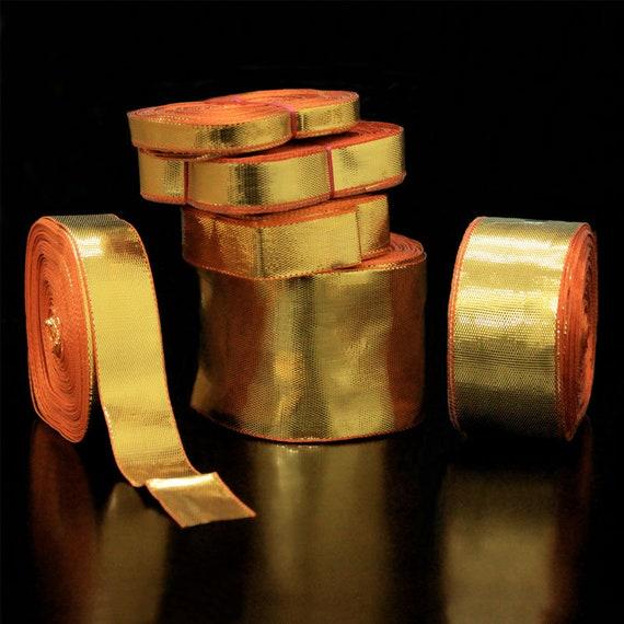 Kaufen Gold Farbe Plain Gota Schnursenkel Gota Band Etsy