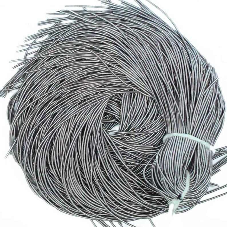 Bullion Thread,Nakshi,Purl wire in PastelPurple Bullion WireFrench WireMetallic French Wirefrench coil 100Gram Kora Rough Purl -50Yard