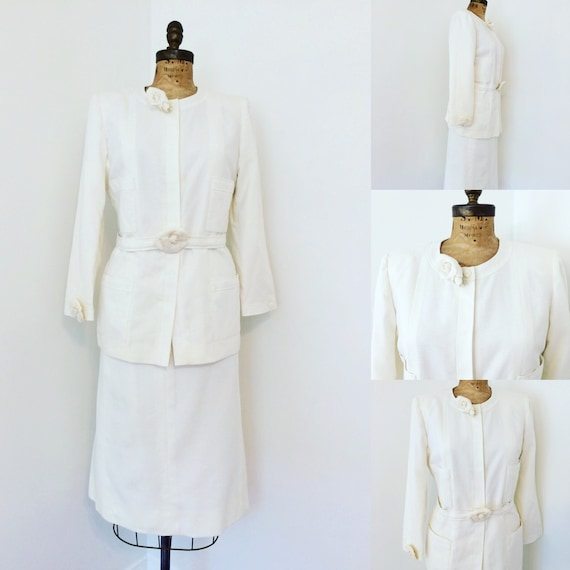 Chanel Vintage Suit Skirt Suit with classic Chanel