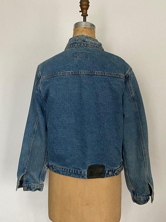 1980s Polo Ralph Lauren denim cropped barn jacket - image 5