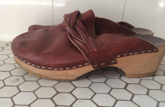 1970s Clogs size 35
