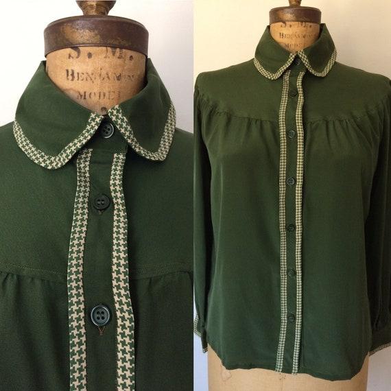 Valentino silk vintage blouse