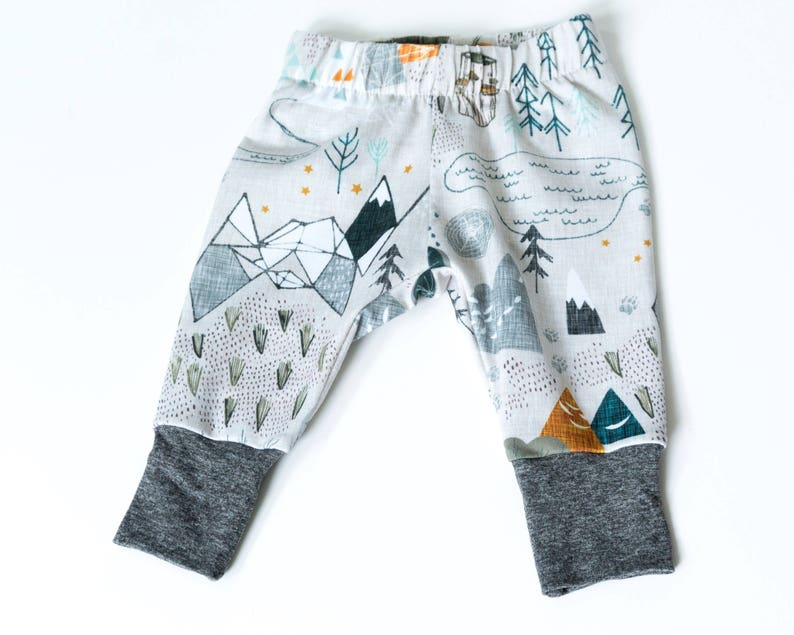 Baby boy clothes hipster  leggings for baby  baby gift for image 0