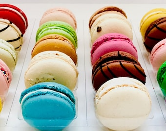 Choose your own 10 macaron box- 20+ flavor options