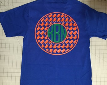Florida Gators Monogram T-shirt - University of Florida Fan shirt