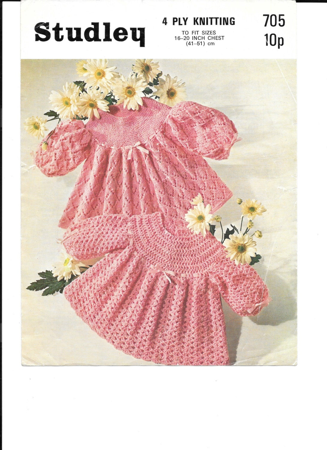 Crochet and Knitting Pattern for 4 Ply Dresses / tops PDF ...