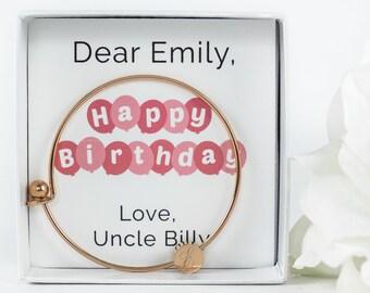 Little Girl Birthday | Birthday Gift | Little Girl Bracelet | Little Girl Jewelry | Initial Bracelet | Name Bracelet | Personalized Bracelet
