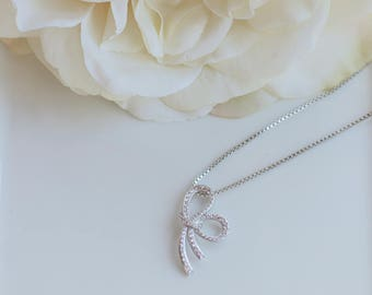 Bridesmaid Gifts   Knot Jewelry   Tie the Knot   Bridesmaid Jewelry   Knot Necklace   Mother's Day Gift   Friendship Jewelry
