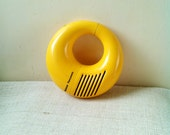 Retro Panasonic National Transistor yellow snake Venom radio 1970s