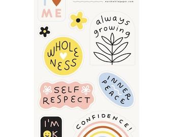 Self Love Sticker Sheet Set