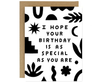Birthday Special Card