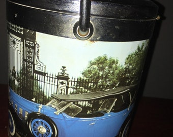 Vintage Ice Bucket// 1970s Barware