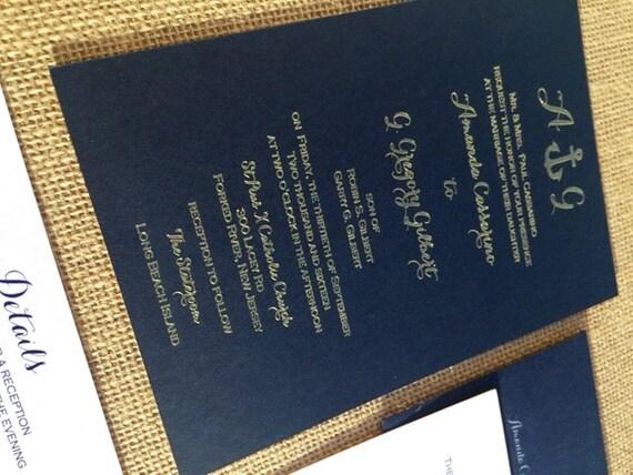 beach wedding invitations anchor invitation navy invitation etsy
