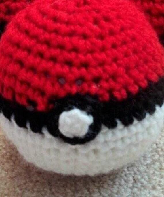 Pokeball ( | Brinquedos de crochê para bebê, Tutorial de crochê ... | 688x570