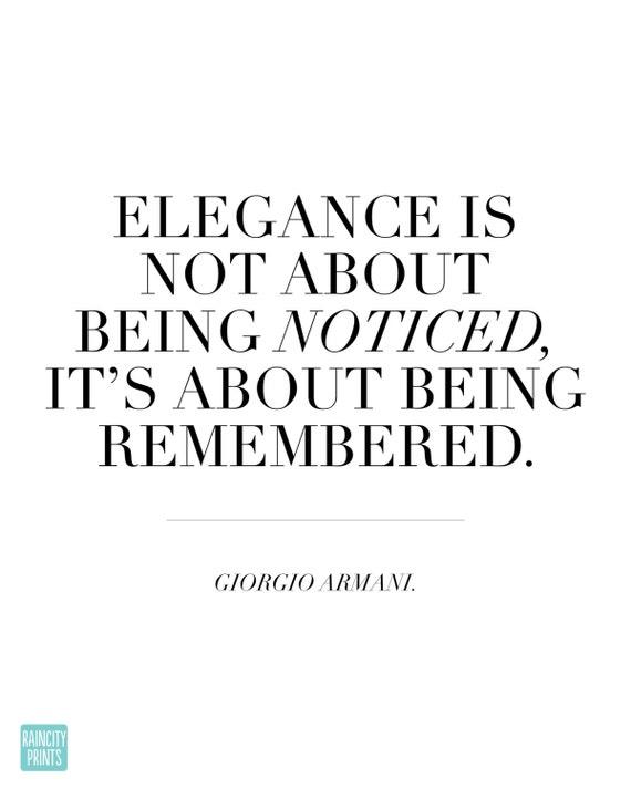 Giorgio Armani Eleganz Zitat Typografische Druck Moderne Kunstdruck Fashionista Wand Dekor Elegante Home Office Dekor Inspirierende Kunstdruck