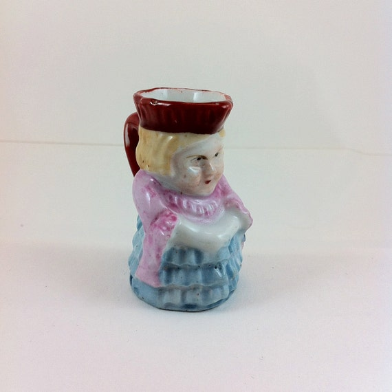 Angry Lady Toby Mug Made In Occupied Japan 1947 1952 Etsy