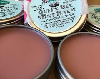 Queen Bee Mint Lip Balm