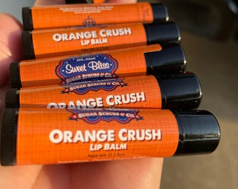 Orange Crush Lip Balm