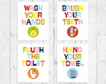 Kids bathroom sign Flush Kids Bathroom Decor Poster Printable Bathroom Rules Bathroom Art Prints Girl Bathroom Boy Bathroom Sign Bathroom Poster Children Bathroom Etsy Kids Bathroom Signs Etsy
