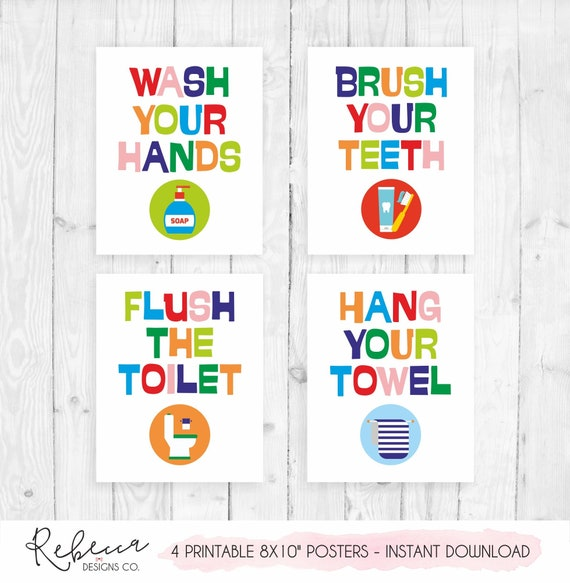 It's just a graphic of Printable Bathroom Art for printable vintage