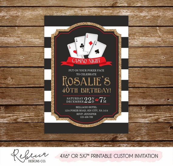 Poker party casino casino themed party supplies uk