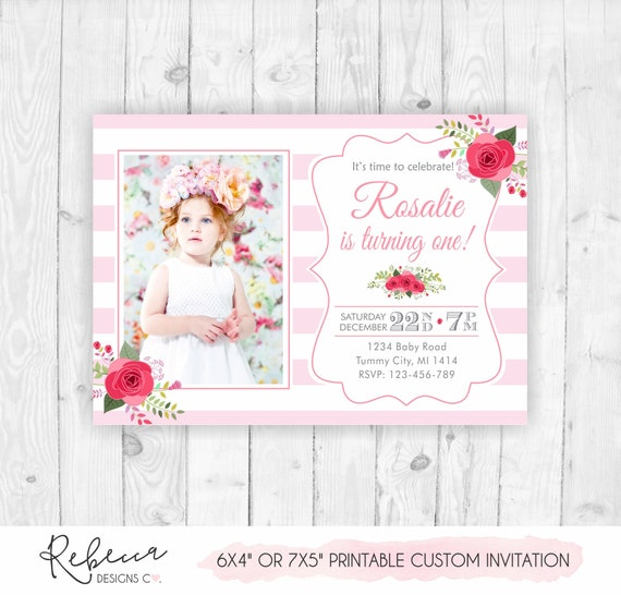 photograph relating to Printable Tea Party Invitations referred to as Female birthday invitation printable tea get together invitation woman