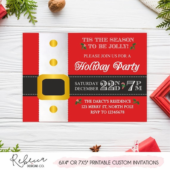 christmas invitation christmas invite printable christmas invite christmas party secret santa invitation christmas invitation holiday 135 .