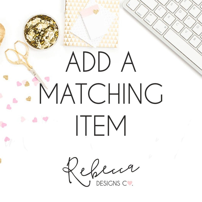 Add a matching item coordinating item favor tags welcome sign image 0