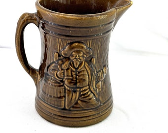 Vintage Brown McCoy Pirate Buccaneer Pitcher 6 Marking