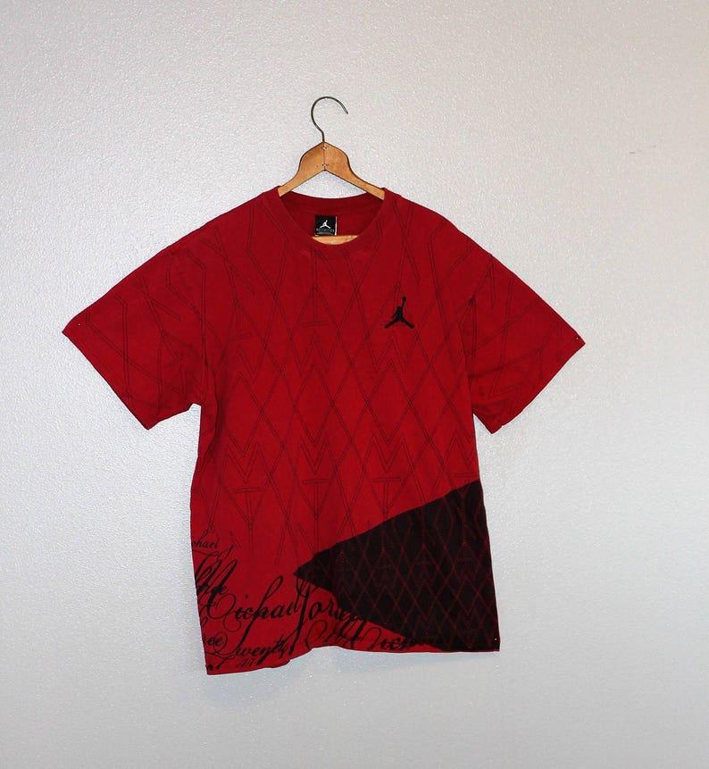 7ecbcb87 Vintage MICHAEL JORDAN Tee Shirt 90's Chicago Bulls | Etsy