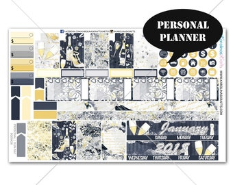 Celebration Planner Stickers MONTHLY Planner Kit, Sew Much Crafting Stickers, Monthly Sticker Kit, Personal Kit #SQ00428-Personal