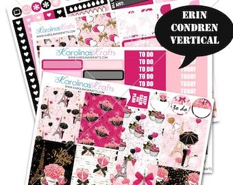 Valentine's Day Stickers, Weekly Planner Kit 200+ Planner Stickers, for Erin Condren Stickers, February Planner Stickers #SQ00055-ECV