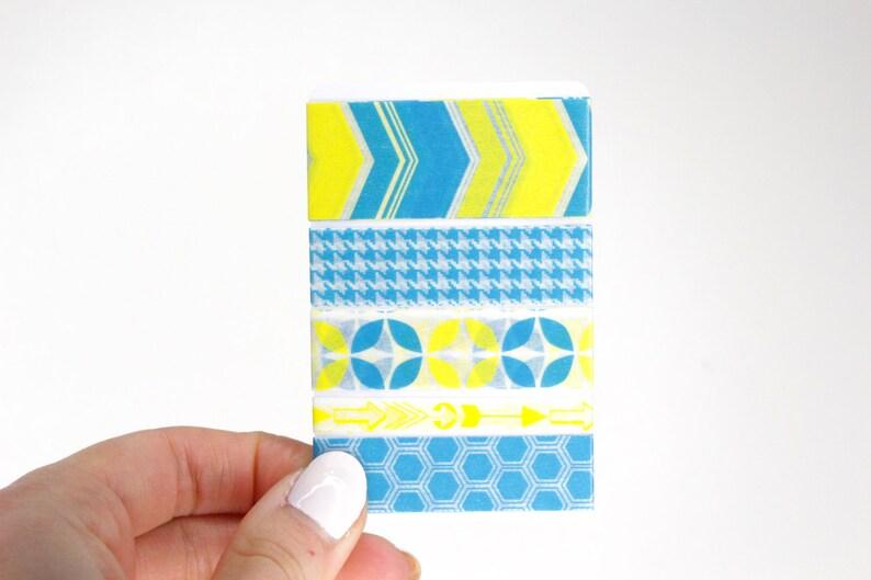 Planner Washi Sampler 5 Washi Samples for your Erin Condren image 0