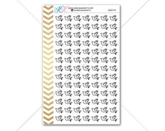 Dove Stickers for planner, calendar! Functional planner stickers wedding sticker functional sticker religious sticker #SQ00100