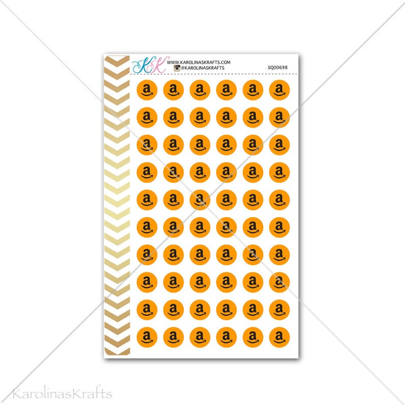 Amazon Stickers for planner calendar Functional planner image 0