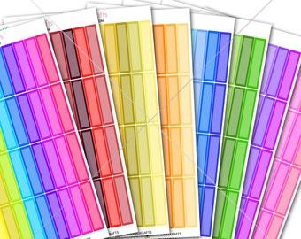 THIN Label Stickers! Perfect for Erin Condren Life Planner, Filofax Sticker/Functional Planner Sticker! #SQ00311 BUNDLE