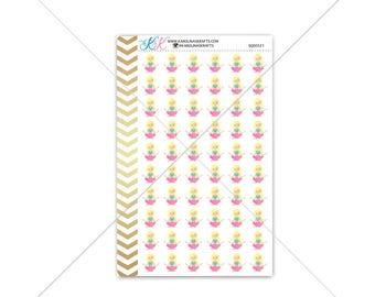 Blonde Yoga Girl Stickers for planner, calendar! Functional planner stickers sport sticker functional sticker fitness sticker #SQ00521