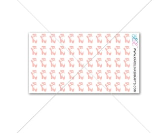 Itty Bitty Ballet Stickers! Itty Bitty Planner Stickers, Ballerina Stickers for Sew Much Crafting Inserts or personal planner  #SQ00016