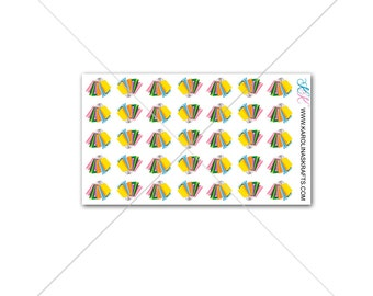 Itty Bitty Shopping Stickers or Shopping Bag Stickers! Itty Bitty Planner Stickers, Sew Much Crafting Stickers  #SQ00647